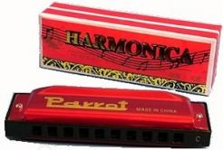 Parrot HD10-1 G dur fúkacia harmonika