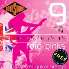 Rotosound R9 Roto Pinks 09-42 struny pre elektrickú gitaru