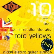 Rotosound R10 Roto Yellows 10-46 struny pre elektrickú gitaru