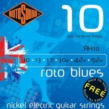 Rotosound RH10 Roto Blues 10-52 struny pre elektrickú gitaru