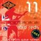 Rotosound R11 Roto Reds 11-48 struny pre elektrickú gitaru
