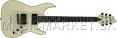 Schecter C-1 BlackJack ATX Aged White elektrická gitara