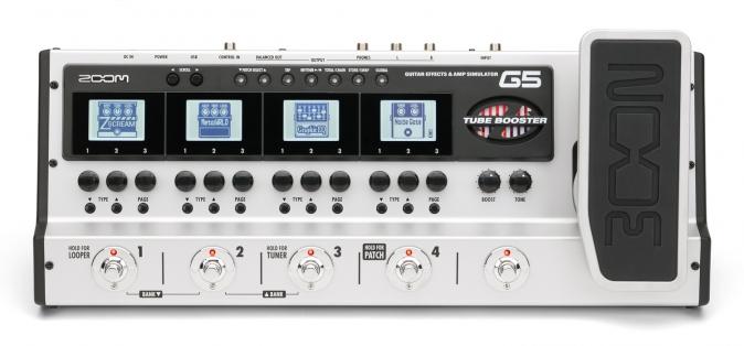 Zoom G5 gitarový multiefekt